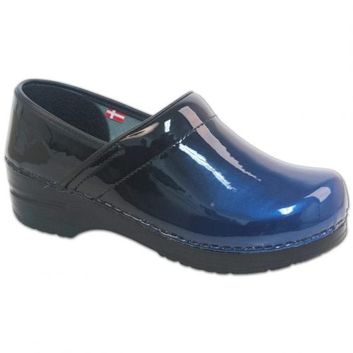 Sanita Milan Women Blue Closed Back clogs
