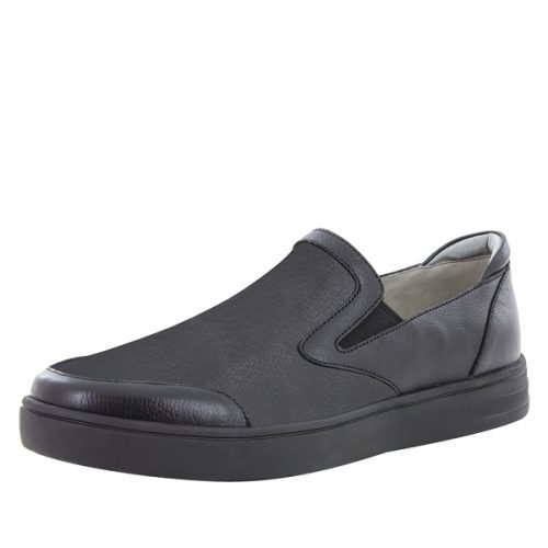 ALEGRIA MEN'S BENDER BLACK TUMBLED